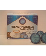French Vanilla Cappuccino flavored 12 Single Serve cups for the K-Cup Br... - $10.75