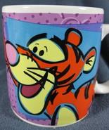 Tigger Coffee Mug Cup Disney Winnie The Pooh Sakura Ceramic 12oz - $14.97