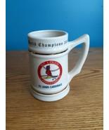 Lewis Bros. St Louis Cardinals 1982 WORLD CHAMPIONS Ceramic Beer Stein/M... - $14.80