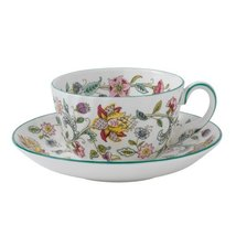 Minton Haddon Hall tea cup saucer HAD TCS (japan import) - $251.49