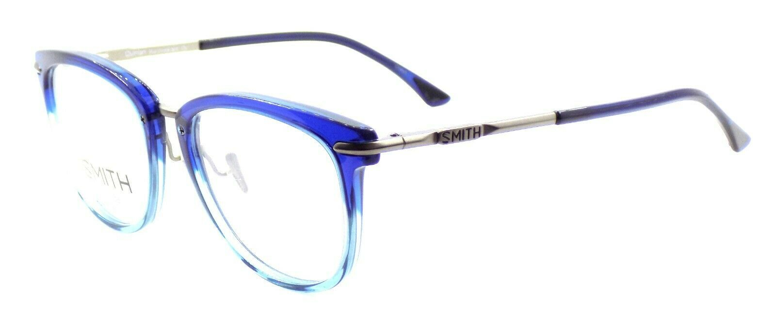 SMITH Optics Quinlan IOV Unisex Eyeglasses Frames 51-19-140 Blue Crystal Split - $93.70