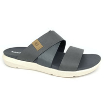 Timberland Women's Wilesport Medium Grey Slip On Sandals A1XPS - $49.99