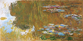 The Water Lily Pond Painting by Claude Monet Art Reproduction - $32.99+