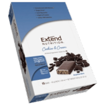 Extend Bar Cookies & Cream Box of 15 - $23.99