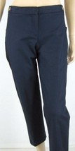Ellen Tracy Navy Dress  Ankle Length Pants 24 Inch Inseam Size 4 New 8672 - $24.74