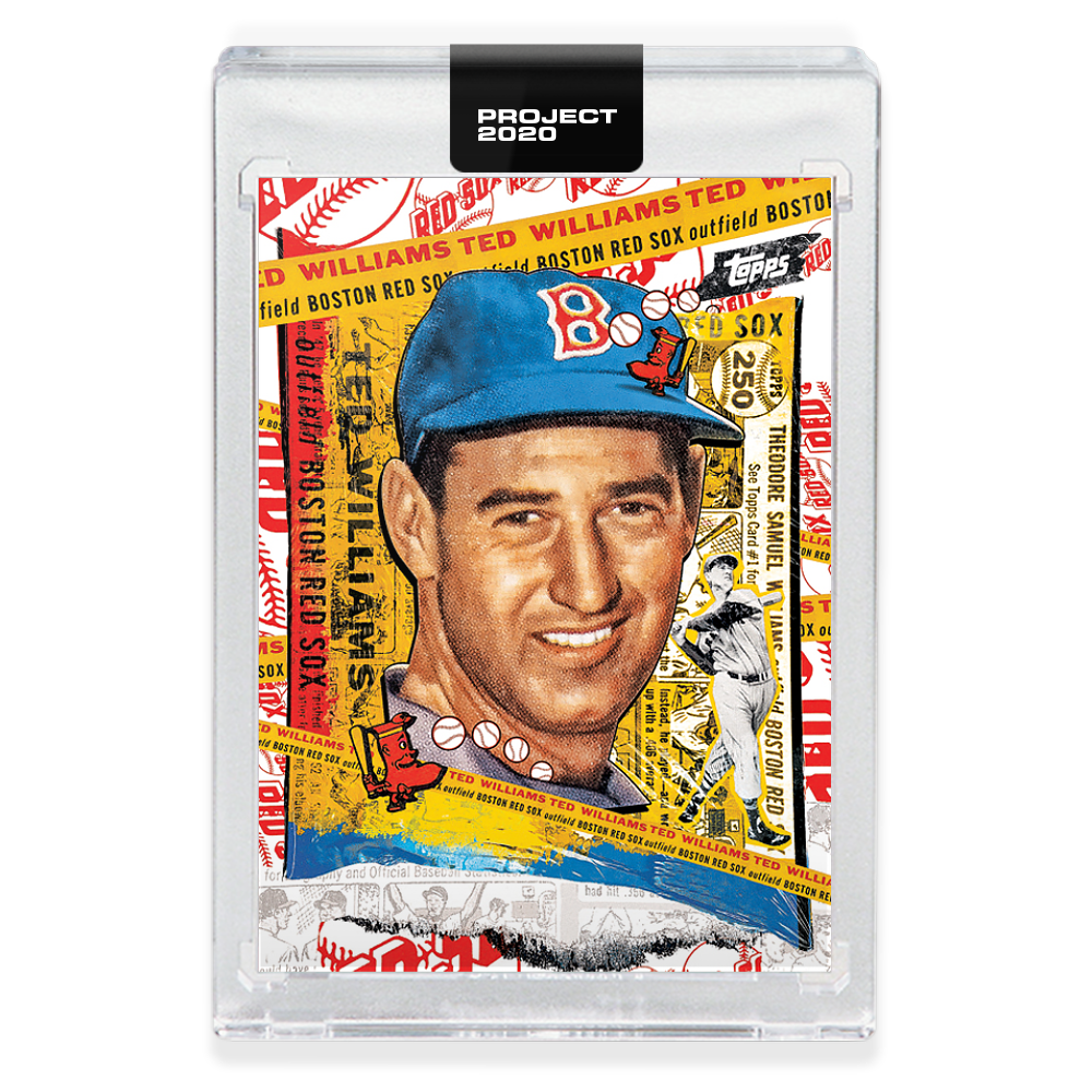 Primary image for Topps PROJECT 2020 Baseball Card 122 - 1954 Ted Williams by Tyson Beck
