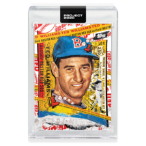 Topps PROJECT 2020 Baseball Card 122 - 1954 Ted Williams by Tyson Beck - $34.64
