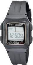 Casio Men's F201WA-9A Multi-Function Alarm Sports Watch - $28.04