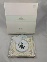 Hallmark Keepsake Handprint Frame Boy Nursery Rhyme - $4.95