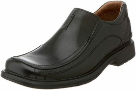 NEW CLARKS ENGLAND CODE BLACK MENS SIZE 9.5 (78340) - $198.00