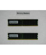 A2018596 A2018597 8GB  2X4GB Memory Dell PowerEdge T605 2 Rank X 4 - $130.19