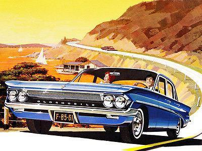 Primary image for 1961 Oldsmobile F-85 - Promotional Advertising Poster