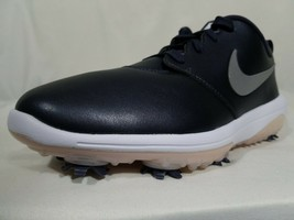 Nike Roshe Golf Shoes Size 9 Women's Metallic Purple Leather Cleats AR55... - $54.99