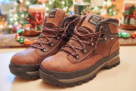 Timberland Pro Euro Hiker Waterproof Alloy Safety Toe Brown A1HC5 Size 12m - $98.54