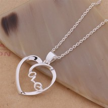 An149 Hot 925 Sterling Silver Necklace 925 Silver Fashion Jewelry Pendant Likabl - $9.55