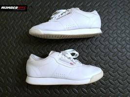 Women's Reebok Classic Leather Princess Athletic Shoes White Size 7 039501 - $36.62