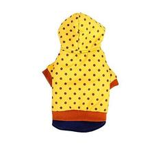 Autumn And Winter Clothes For Puppy With Dot Pattern Dog Warm Clothing - £19.79 GBP