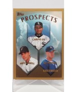 Carlos Lee Mike Lowell Kit Pellow Prospects 1999 Topps Baseball Card 425... - $0.98