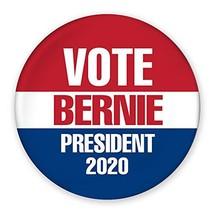 "3"" Pin-Back Button - Vote Bernie Sanders President 2020 - Red, White, Blue - $79.99"