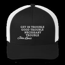 Good Trouble John Lewis Hat / Good Trouble Hat / John Lewis Trucker Cap image 5