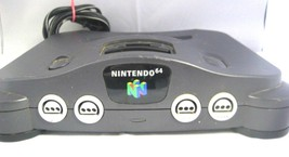 Nintendo 64 System Black No Controllers - $37.39