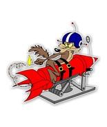 Wile E Coyote Rocket  Decal / Sticker Die cut - $2.96 - $3.95
