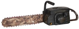 HALLOWEEN ANIMATED CHAINSAW SOUND TEXAS MASSACRE HAUNTED HOUSE PROP DECO... - $41.90