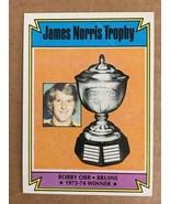 1974-75 Topps Bobby Orr #248 Hockey Card Boston Bruins NM KV1 - $9.99