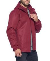 Red Label Men's Lightweight Nylon Hooded Water Resistant Zip Up Rain Jacket image 2