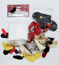 Doll Shoes, Tights, Sox, Roller Skates Accessories Lot - $28.91