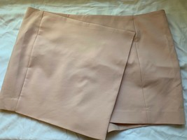 EXPRESS Light Pink Faux Wrap Stretch Skort Front Skirt Back Shorts NWT 1... - $29.65