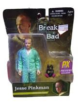 """Breaking Bad Previews Exclusive Jesse Pinkman Blue Hazmat Suit 6"""" Action... - $9.41"""