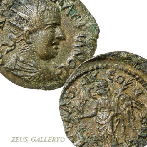 Primary image for VALERIAN I XF Thessalonika, Macedon Moushmov 6863 RARE Ancient Roman Coin Æ23mm