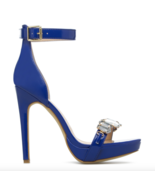 Scene By ShoeDazzle Celinia Blue With Jewels High Heels US 7.5 - $23.65