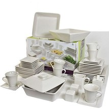 10 Strawberry Street Nova Square Banquet 45-Piece Dinnerware Set - $98.99+