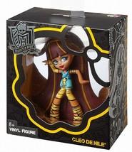 """Monster High Cleo De Nile Vinyl Plastic Figure 4"""" 2014 New in Box NRFB - $4.85"""