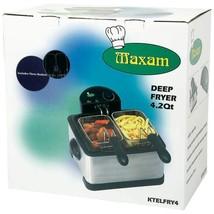 Maxam® 4qt Electric Deep Fryer - $89.00