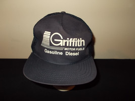 VTG-1990s Griffith Motor Oils Gasoline Diesel Fuel retro snapback hat sku21 - $27.83