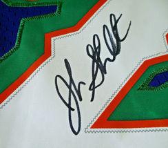 JOHN STOCKTON / NBA HALL OF FAME / AUTOGRAPHED UTAH JAZZ PRO STYLE JERSEY / COA image 5