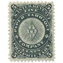 Paper Fabrique Company 5c U.S. Internal Revenue RU15b Private Die, Propr... - $39.00