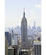 New York City Wall Decor Panoramic Canvas Print - Empire State Building - $145.00