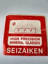 Mineral glass for watch seizaiken tickness 1,5mm - $3.00
