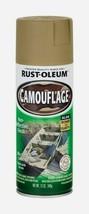 Rust-Oleum Specialty CAMOUFLAGE 12 oz. Spray Flat KHAKI Sports Hunting 1... - $14.99