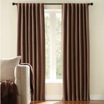 "NEW 2 Pack Room Darkening Window Panels in Mocha 54"" x 84"" - $28.50"