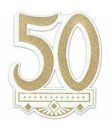 50th Anniversary Crest, 14-Inch - $6.64