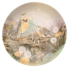 W.S. George Mothers Melody Natures Poetry Series Lena Liu Plate HJ141 - $50.95