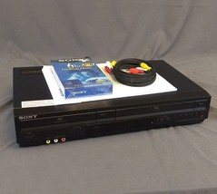 Sony DVD VCR Combo SLV-D380P VHS Player Video Cassette Recorder Tested N... - $48.33