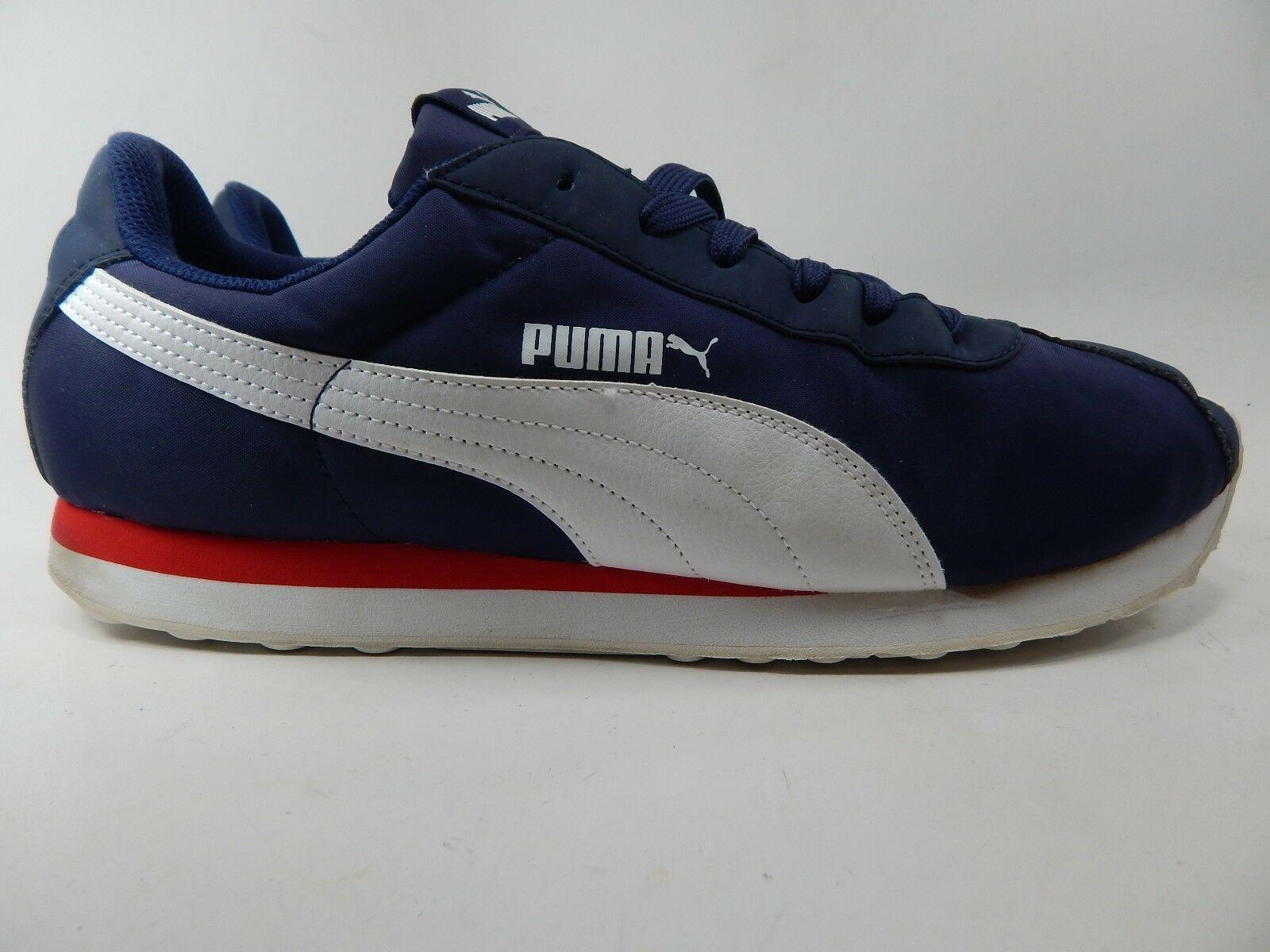 Puma Turin Nl Turnschuhe Us 13 M (D) Eu 47 Herren Nylon Freizeitschuhe Blau