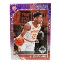 De'Andre Hunter 2019-20 Panini Hoops Premium Stock #202 Purple Disco Pri... - $19.75