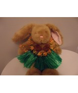 Build A Bear Easter Bunny With  5 piece Hawaiian Outfit - $6.93